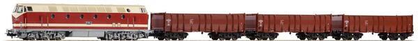 PIKO 57138 H0 Start-Set Güterzug BR 119 DR IV