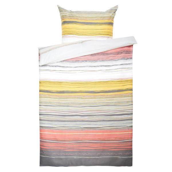 Flanell-Bettwäsche mit Streifenmuster