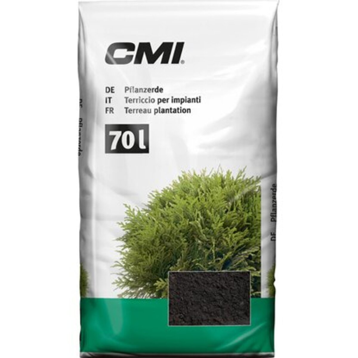 Bild 1 von CMI Pflanzerde 2.520 l (36 x 70 l) 1 Palette
