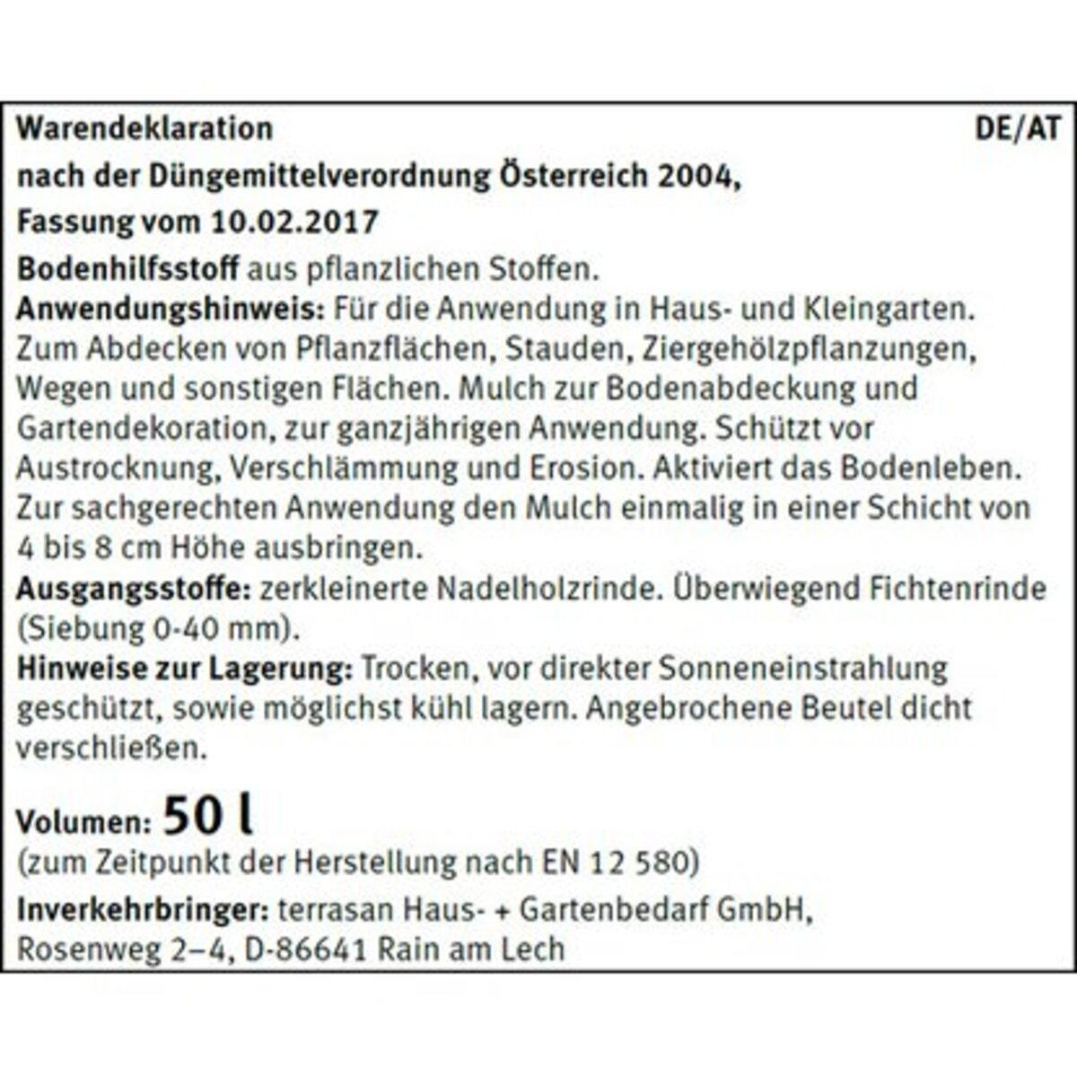 Bild 2 von CMI Rindenmulch Grob 1 x 50 l