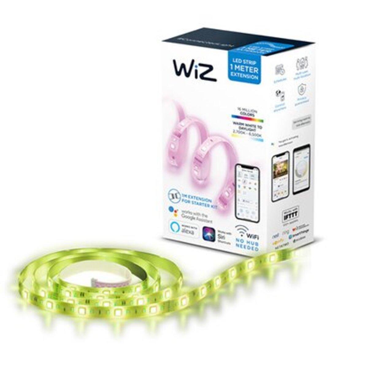 Bild 1 von WiZ Smart LED-Strip Wifi Verlängerung Licht- & Farbwechsel RGBW 13W 1 m