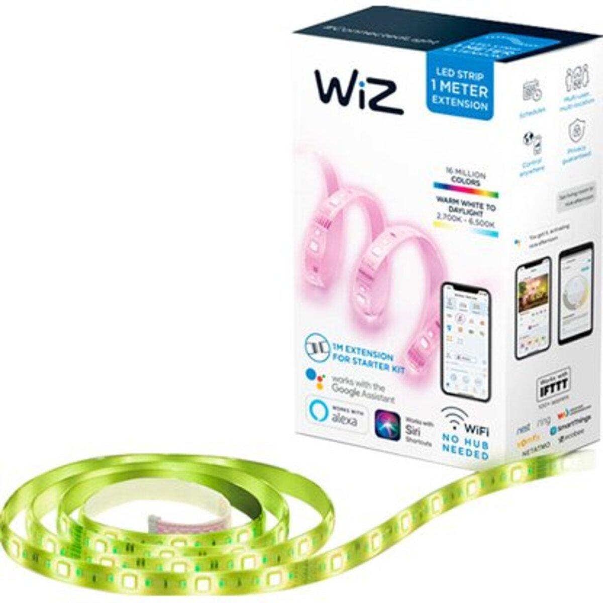 Bild 5 von WiZ Smart LED-Strip Wifi Verlängerung Licht- & Farbwechsel RGBW 13W 1 m