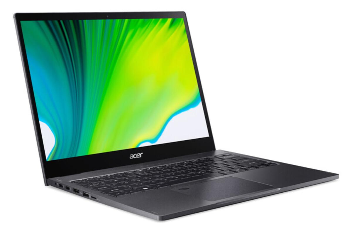 Bild 3 von ACER Spin 3 (SP513-55N-771F) 2in1 Convertible (13,3 Zoll Multi-Touch QHD IPS, Intel Core™ i7-1165G7, 16 GB RAM, 1 TB SSD, Iris Xe Grafik, Windows 10 Home, Fingerprintsensor)