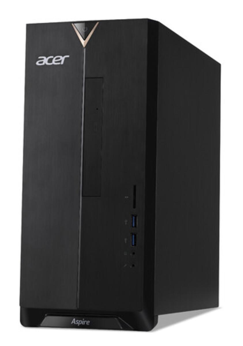 Bild 1 von ACER Aspire TC-330 schwarz Desktop-PC (AMD A6-9220e, 8 GB DDR4 RAM, 2.000 GB HDD, MD Radeon R4 Graphics, Windows 10 Home (64 Bit))