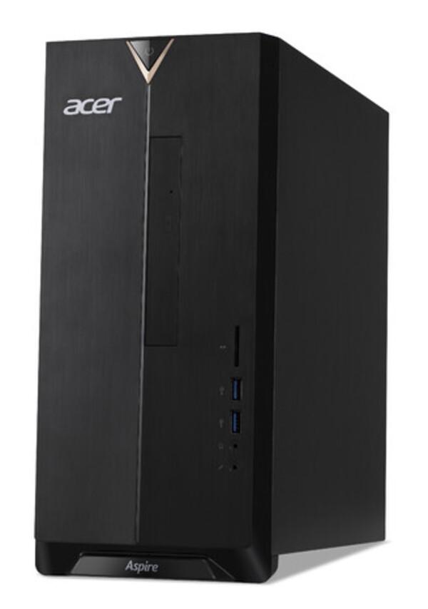 ACER Aspire TC-330 schwarz Desktop-PC (AMD A6-9220e, 8 GB DDR4 RAM, 2.000 GB HDD, MD Radeon R4 Graphics, Windows 10 Home (64 Bit))