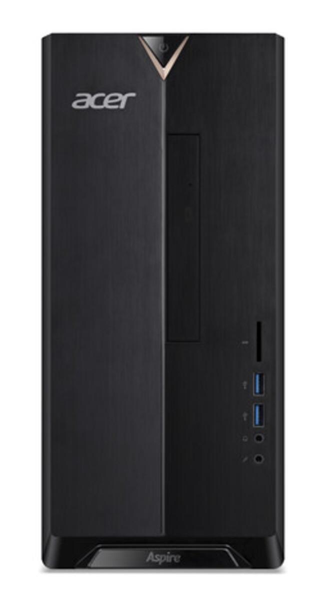 Bild 3 von ACER Aspire TC-330 schwarz Desktop-PC (AMD A6-9220e, 8 GB DDR4 RAM, 2.000 GB HDD, MD Radeon R4 Graphics, Windows 10 Home (64 Bit))