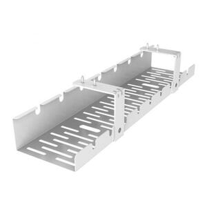 FlexiSpot Schreibtisch Kabelkanal cmp502 Weiß