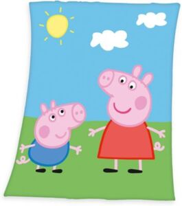 Fleece-Decke Peppa Pig, 130x160 cm