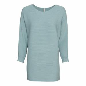 Damen-Pullover mit überschnittenen Ärmeln