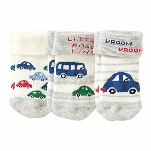 Baby-Jungen-Frottee-Socken, 3er Pack