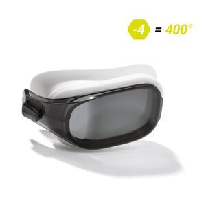 Schwimmbrillen-Glas Stärke -4.00 für Schwimmbrille Selfit Größe L getönt