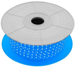 LED-Streifenrolle Dimmbar 220V AC 60 LED/m 50m Blau IP65 Schnitt jede 100cm