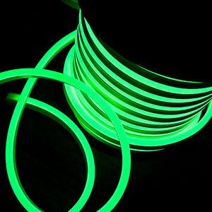 Ledkia - LED-Streifenrolle Flexibel Dimmbar 120LED/m Grün 50 Meter IP65