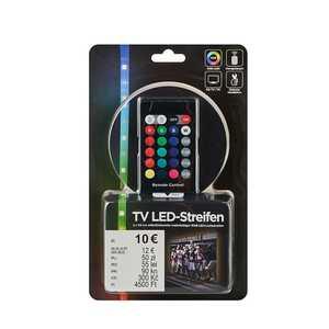 LED-Stripes, 2 Stück, mit USB-Anschluss, mehrfarbig