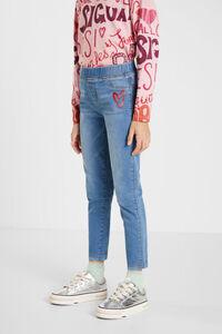Jeans-Leggings im Slim Fit