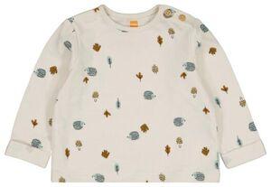 HEMA Newborn-Shirt Eierschalenfarben
