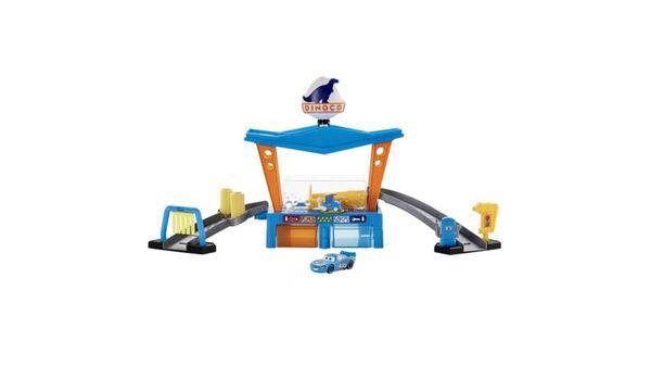 Disney Pixar Cars Farbwechsel Dinoco Autowaschanlage Spielset