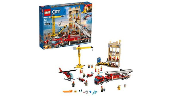 LEGO City - 60216 Feuerwehr in der Stadt