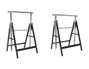 TECH-CRAFT Arbeitsunterstellbock-Set 2-tlg. höhenverstellbar