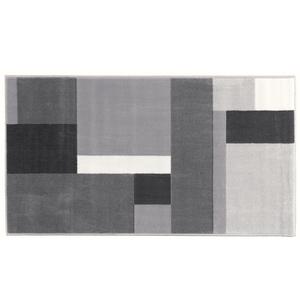 "Lifetex Teppichläufer ""Shiraz"", ca. 70 x 130 cm - Karo Allover Grau"
