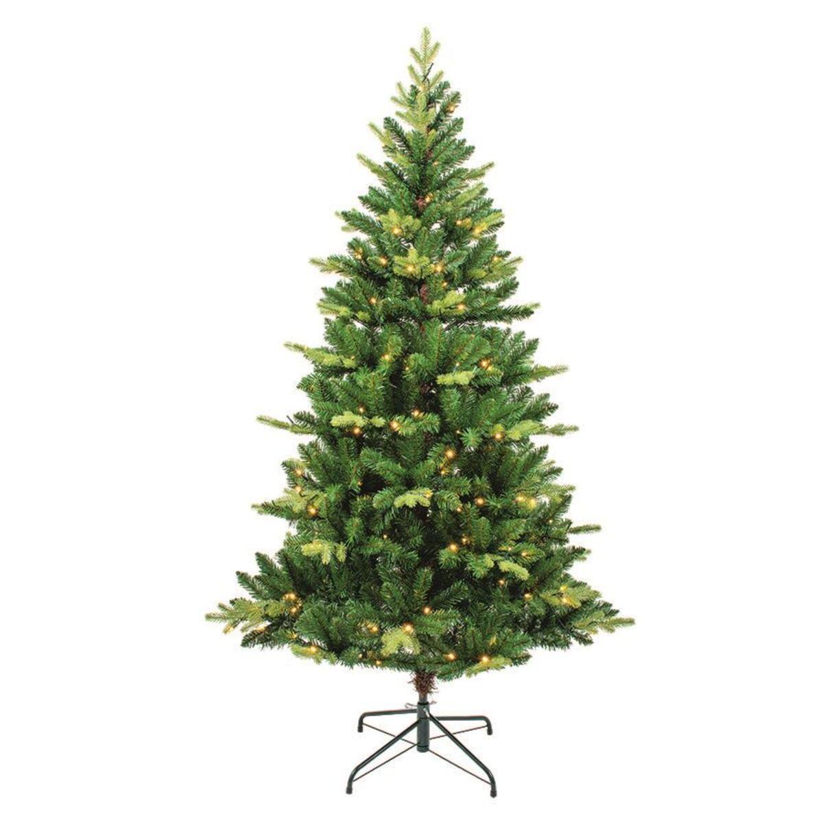 Bild 2 von Künstlicher Weihnachtsbaum mit 200 LED-Lichterkette 180cm