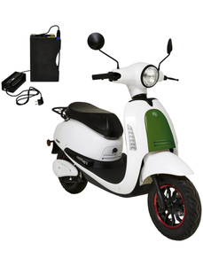 Elektroroller »SEED«, max. 45 km/h, Reichweite: 50 km, weiß/grün