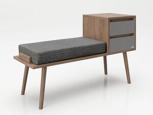 PLAYBOY Sitzbank »MONIQUE«, mit 2 Schubladen