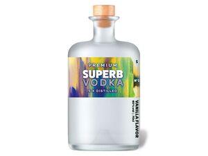 Premium Superb Vodka Vanilla 40% Vol