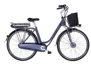Llobe E-Bike »Black Motion 2.0«, Citybike, Damen, 28 Zoll