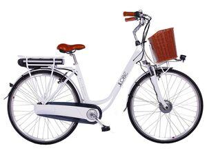 Llobe E-Bike »White Motion 2.0«, Citybike, Damen, 28 Zoll