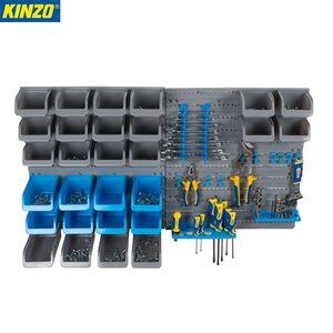 Kinzo System-Lagerwand für Werkzeuge 45-teilig