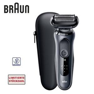 Rasierer Series 6 60-N1000s • intelligenter SensoFlex-Scherkopf für weniger Druck bei der Rasur • SensoFoil-Klingen für gute Hautverträglichkeit • 5-Minuten-Schnellladung • inkl. Reiseetui