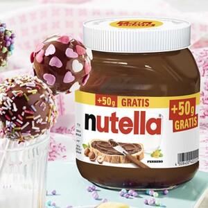 nutella Nuss-Nugat-Creme jedes 450-g + 50-g gratis = 500-g-Bonusglas