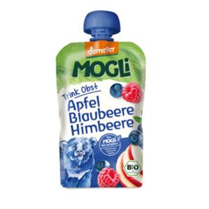 MOGLi Bio Demeter Trink Obst Blaubeere