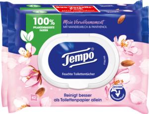Tempo feuchte Toilettentücher mit Mandelmilch & Panthenol