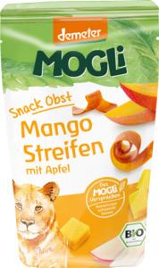 MOGLi Bio Snack Obst Mango Streifen mit Apfel