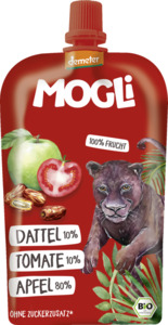 MOGLi Bio Fruchtpüree Dattel, Tomate, Apfel