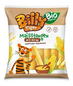Billy Tiger Bio Maisstangen mit Hirsegrütze