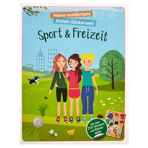 Anziehpuppen-Stickerbuch