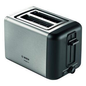 Bosch DesignLine Kompakt Toaster TAT3P424DE Edelstahl silber