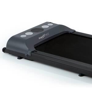 MAXXMEE Laufband - 1-6km/h - Maximale Belastbarkeit von 100 kg, Schwarz