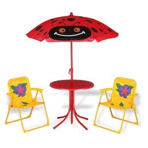 Deuba Kindersitzgruppe bis 35kg- Ø 104cm, Mehrfarbig