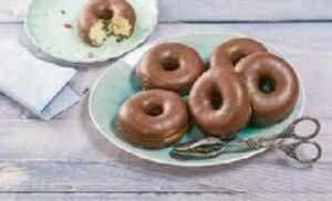 Dunkler Donut