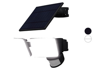 LIVARNO home Außenstrahler LED Solar, mit 2 Spots