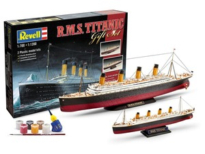 Revell Geschenkset mit zwei Modellen »Titanic«, Schiff, ab 10 Jahren