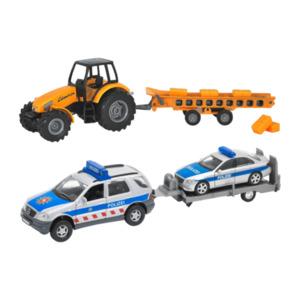 WELLY     Traktoren- / Geländewagen-Set