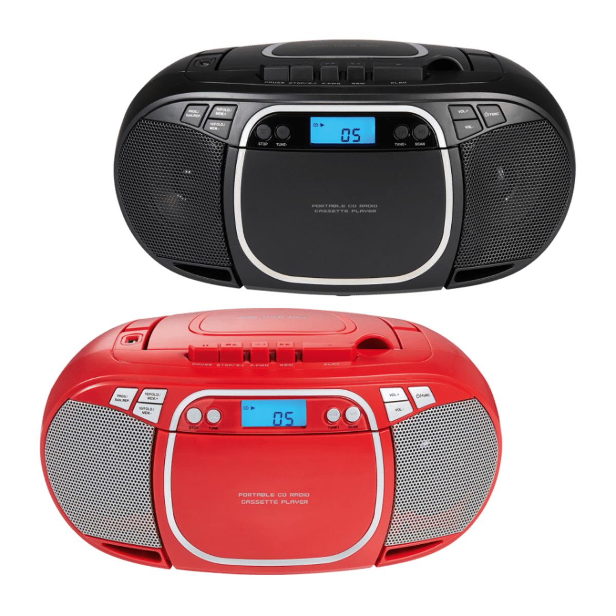 Bild 1 von MEDION     CD- / MP3- / Kassettenspieler E66476 (MD44176)