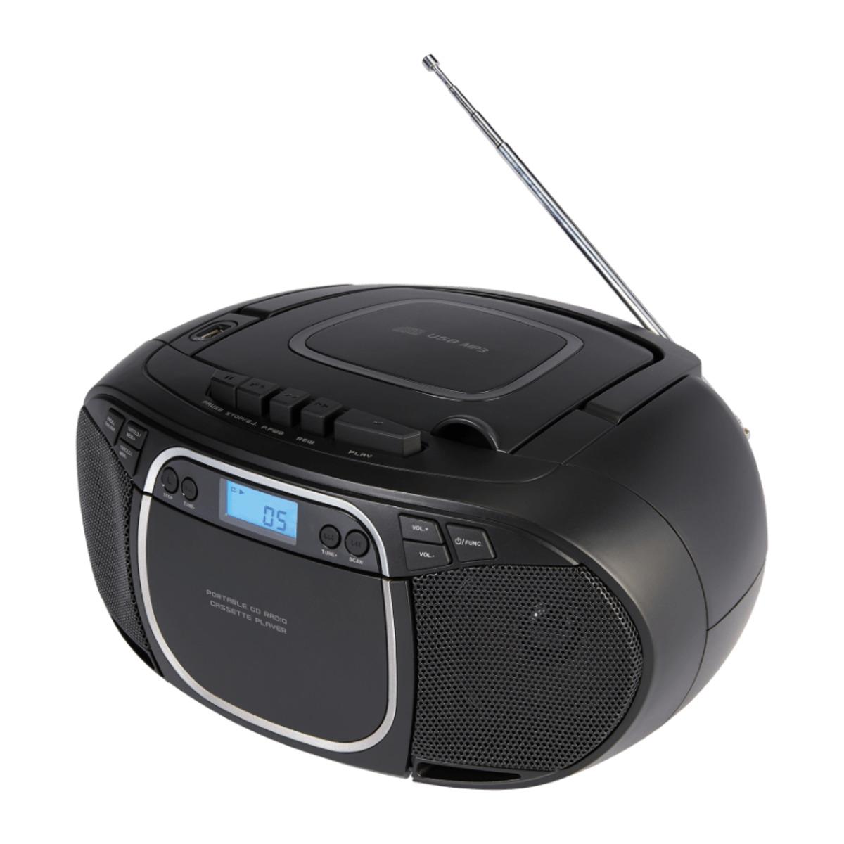 Bild 5 von MEDION     CD- / MP3- / Kassettenspieler E66476 (MD44176)