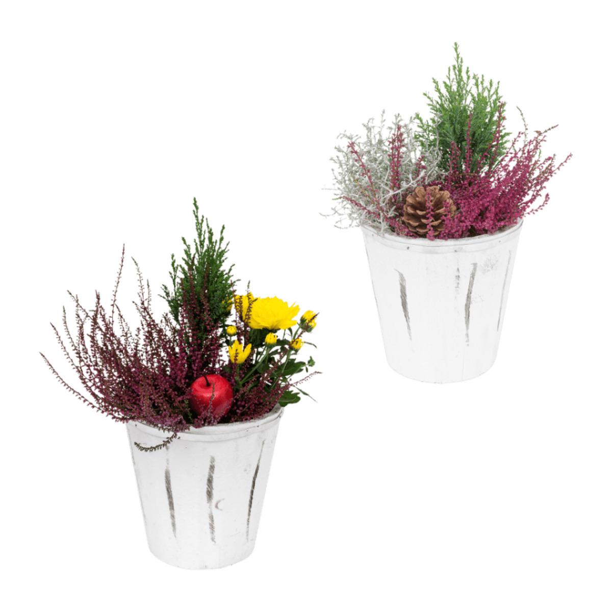 Bild 1 von GARDENLINE Bepflanztes Holzgefäß