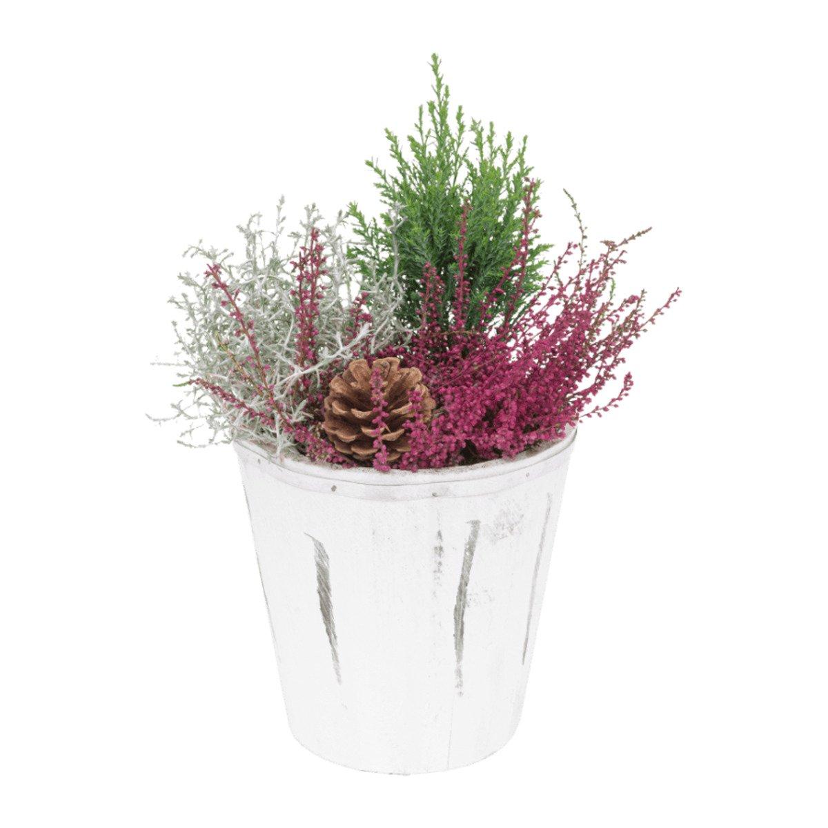 Bild 3 von GARDENLINE Bepflanztes Holzgefäß